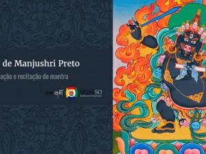 Mini Retiro de Manjushri Preto