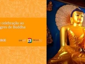 Guru Puja de celebração ao Dia dos Milagres de Buddha