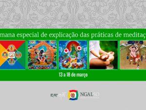 Semana especial de explicação das práticas de meditação