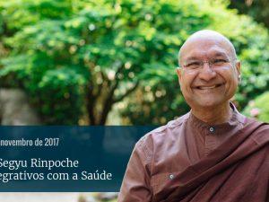 Palestra com Lama Segyu Rinpoche
