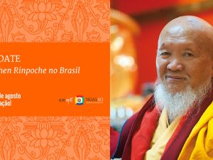 Save the date – Lama Gangchen Rinpoche no Brasil