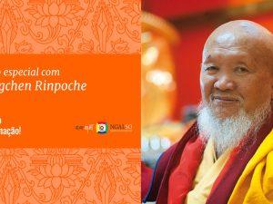 Programação especial com Lama Gangchen Rinpoche