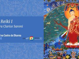 Curso de Reiki I com a mestra Clarice Saroni