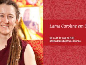 Lama Caroline em São Paulo
