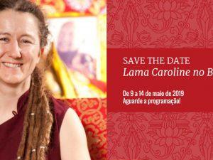 Lama Caroline no Brasil