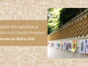 Venha fazer seu Mandala