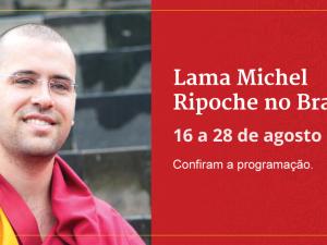 Lama Michel Rinpoche em São Paulo